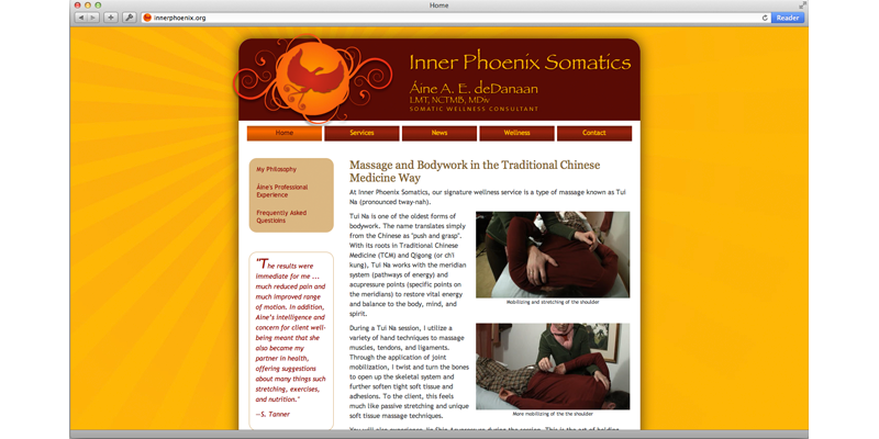Inner Phoenix Somatics Website