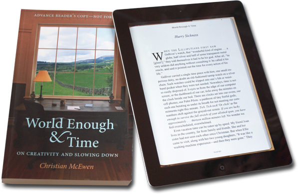 """World Enough & Time"" Book and eBook"