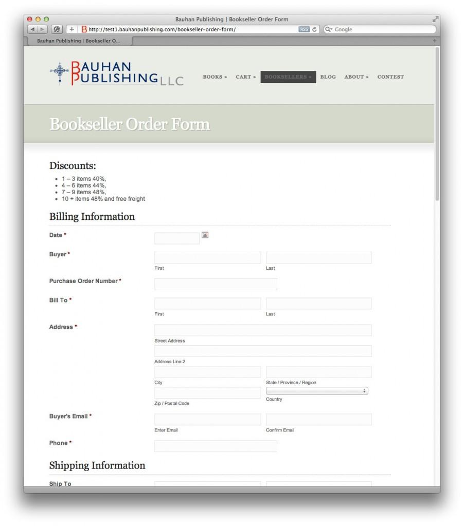 Bauhan Publishing Website | deDanaan Design